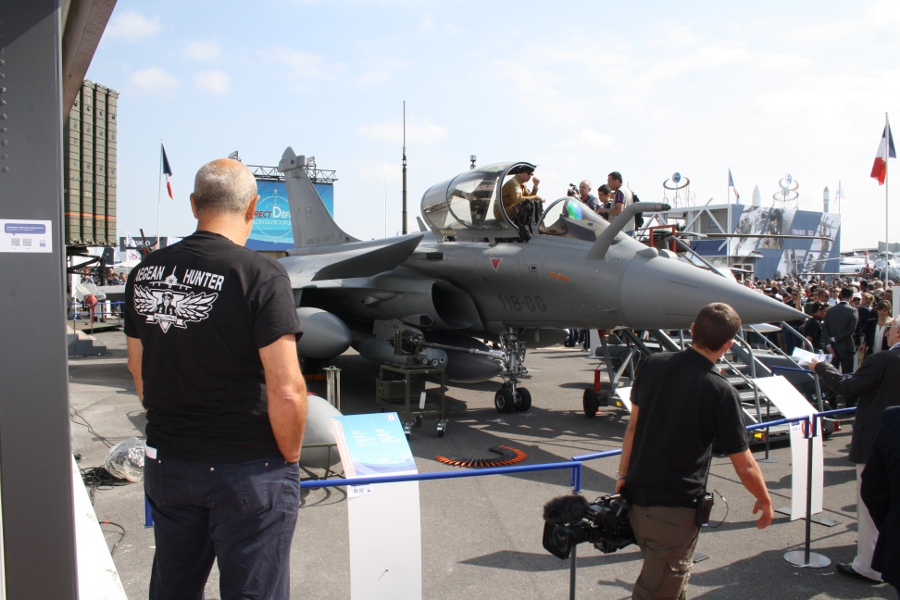 photo Rafale C at the Bourget