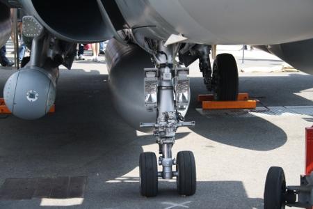 Rafale C landing gears